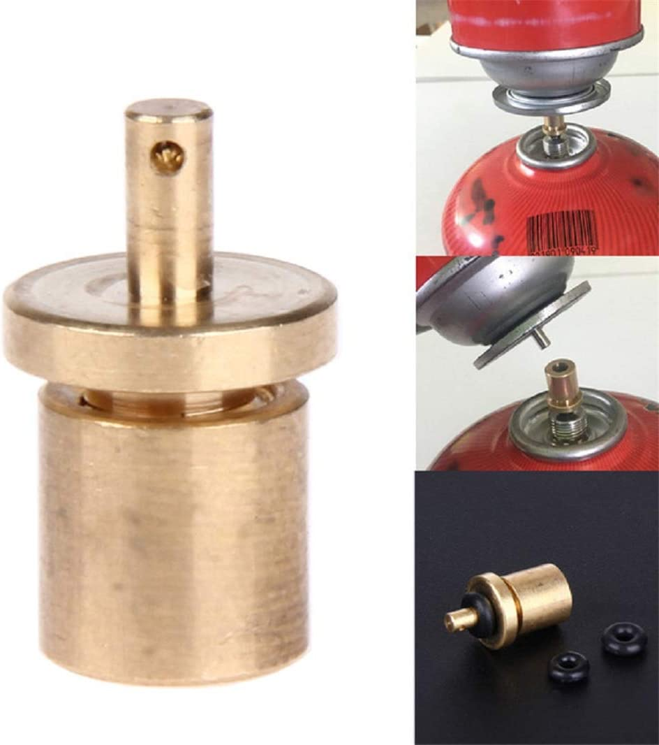 TAIBANGE Gas Refill Bottle Camping Stove Adapter for Butane Canister MK68