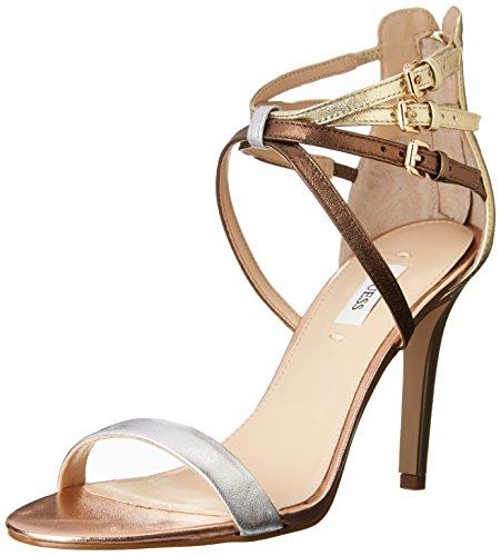 Guess - Zapatos de vestir para mujer plateado/multicolor