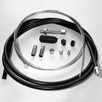 Amazon Com Venhill U01 1 100 Bk Universal Motorcycle Clutch Cable Kit Automotive