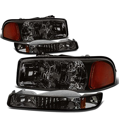 05 sierra headlight assembly - 5