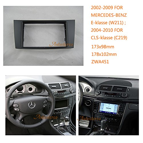Autostereo car radio fascia facia for mercedes benz e for Mercedes benz stereo installation