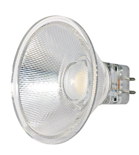 (Satco S9552 Series 3 watt MR16 LED 3000K 40' Beam Spread GU5.30 Base 12 Volts)