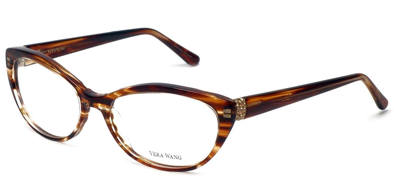 Eyeglasses Vera Wang V351 Brown