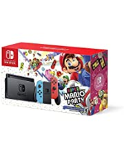 Nintendo Switch w/ Super Mario Party (Full Game Download) - Bundle Edition
