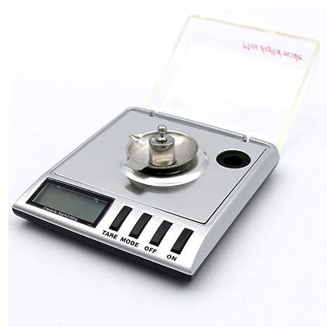 Usun 0.001 g de 30 g digital Báscula Miligramo Diamante de gramos joyas Báscula de precisión