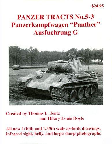 Panzerkampfwagen Panther - Ausf.G (Panzer Tracts, # 5-3.)
