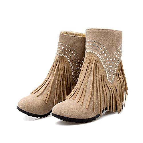Albaricoque Albaricoque AdeeSu altas mujer mujer altas AdeeSu AdeeSu Zapatillas Zapatillas zAfqvn6q