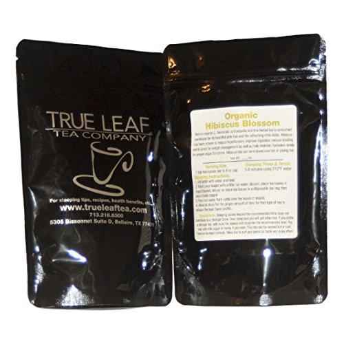 True Leaf Tea Organic Hibiscus Blossom Tea 4 OZ Hibiscus Blossom