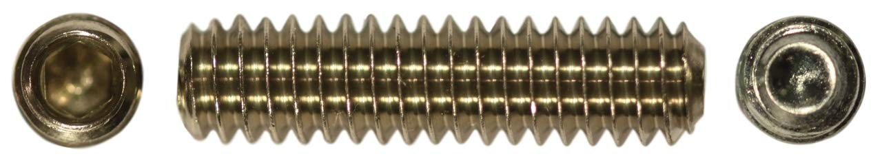 U-Turn - 1/4-20 x 2 inch Socket Set Screw Cup Point Stainless Steel (250 Pack)