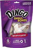 Dingo MFR BACKORDER 012517 Bone Small White 6PACK Value Bag (9 oz)