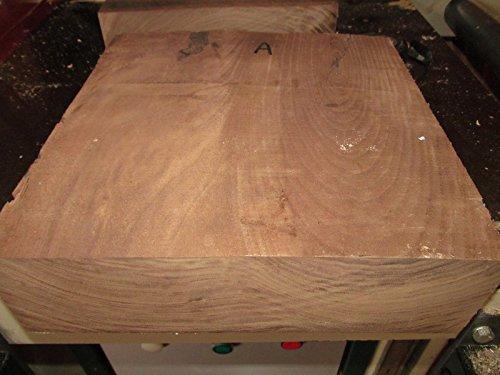 Beautiful KILN Dried Walnut Bowl Blank Lathe Turning Wood Lumber 8 X 8 X 3 -