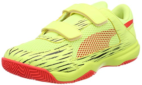 Puma Unisex-Kinder evoSPEED Indoor NF EU 5 V Jr Multisport Schuhe Gelb (Fizzy Yellow-Red Blast-Puma Black)