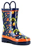 Western Chief Boys Limited Edition Waterproof Rubber Rain Boot (13, Summer Camp)