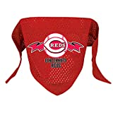 Hunter MFG Cincinnati Reds Mesh Dog Bandana, Large