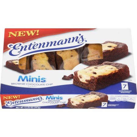 Entenmann's Mini Brownie Chocolate Chip Cakes by Entenmann's