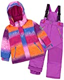 Deux par Deux Girls' 2-Piece Snowsuit Snow Sunset Purple, Sizes 4-14 - 12