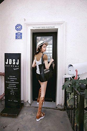 SK Studio - Sandalias Romanas Mujer marrón