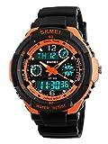 Gosasa Multifunction Sport Watch Men's Digital Shock Resistant Quartz Alarm Waterproof Wristwatches