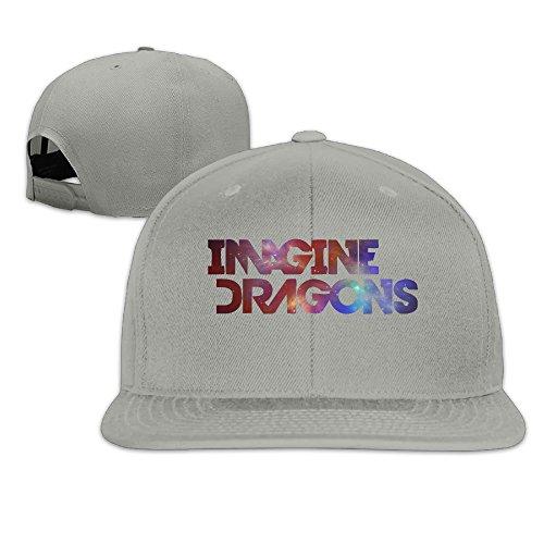 Dragon Logo Hat - Pattern Snapback Hats Cap Imagine Dragons Band Logo Plain Adjustable