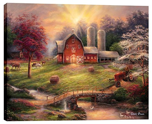 Cortesi Home ''Anticipation of the Day Ahead'' by Chuck Pinson, Giclee Canvas Wall Art, 26'' x 34'' by Cortesi Home