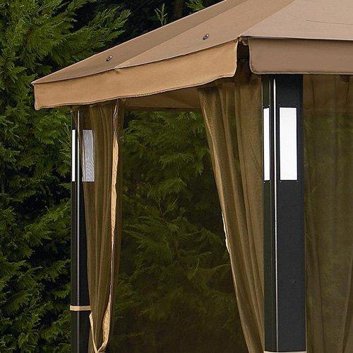 Amazon.com : Lighted Gazebo Replacement Canopy   RipLock 350 : Patio, Lawn  U0026 Garden