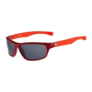 7d29281f7cb Lacoste L744S-615 Red L744S Magnetic Frame Sunglasses With Extendable  Temples  Amazon.co.uk  Clothing