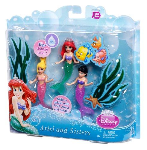 Disney Princess Ariel And Her Sisters Playset 3 Pack