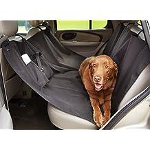 AmazonBasics - Funda para mascotas, para asiento de coche, estilo hamaca