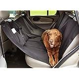 AmazonBasics cubierta impermeable de mascotas para el asiento del coche