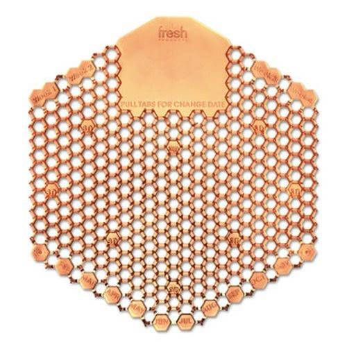 Fresh Products 3WDS60MAN Wave 3D Urinal Deodorizer Screen, Orange, Mango Fragrance, 10 ()