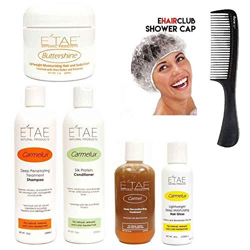 Etae Natural Products E'tae Carmelux Shampoo Conditioner Gloss Carmel...