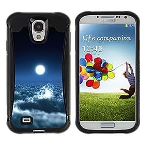 Fuerte Suave TPU GEL Caso Carcasa de Protección Funda para Samsung Galaxy S4 I9500 / Business Style Space Planet Galaxy Stars 39