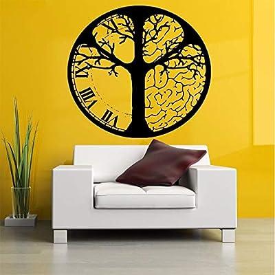 Baobaoshop Reloj del árbol del Cerebro calcomanías de Pared para ...
