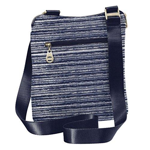 Print Stripe Baggallini Crossbody Horizon and Travel Foab Key Hanover Handbag Wristlet fHfP4v