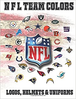 NFL Team Colors, Logos, Helmets and Uniforms.: NFL Coloring book ...