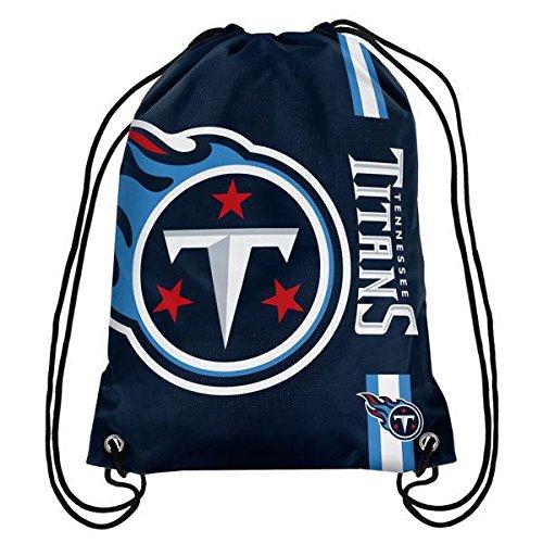 NFL Tennessee Titans Big Logo Drawstring Backpack