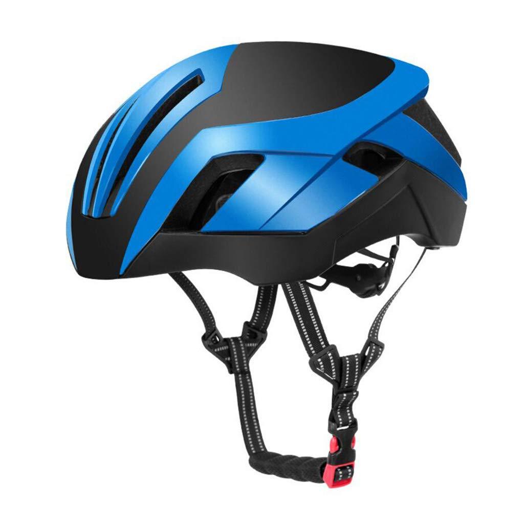 【税込】 ヘルメット サイクルヘルメット 青、ロードマウンテンバイクヘルメット調整可能な軽量専門男性の女性の空気圧ヘルメットバイクレーシング安全キャップ B07PV6GYWV 青 青 B07PV6GYWV 青, YNS WEDDING:48ae5bde --- a0267596.xsph.ru
