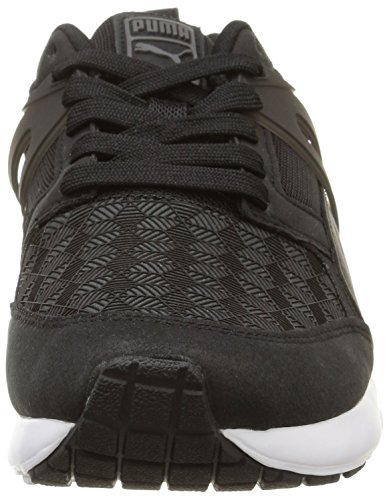 1 Basses Baskets black dark Femme Puma Aril Noir 3d Shadow wECHZItq