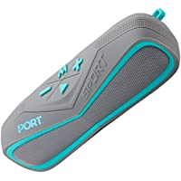 Port Waterproof Wireless Bluetooth Stereo Speaker,Portable Marine Speaker System for iPhone, Android Phone, iPod, iPad|Super Stylish Sand- and Shockproof Design with TF Card Reader and AUX