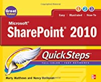 Microsoft SharePoint 2010 QuickSteps Front Cover