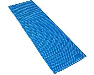 Esterillas de espuma - Aislante de Acampada Portátil Ligero Plegable para el Aire Libre Senderismo Camping Excursionismo (Azul, Regular (183 x 57 cm))