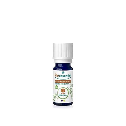 PURESSENTIEL Aceite Esencial Mandarina Verde Bio – 10 ml