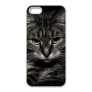DIYCASESTORE Best Art Print Diy Hard Case For Ipod Touch 4 Cover ,Customized case Pretty Cat Art design WE468530