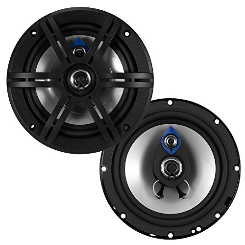 Planet Audio PL63 Pulse 300 Watt (Per Pair), 6.5 Inch, Full Range, 3 Way Car Speakers (Sold in - Special Shopping Online Offers
