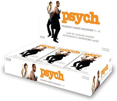Psych Seasons 1-4 Official Cryptozoic Binder
