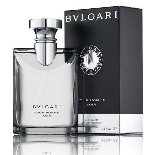 Bvlgari Pour Homme Soir By Bvlgari For Men. Eau De Toilette Spray 3.4 - Mens Bvlgari