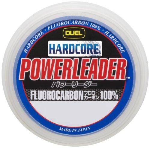 デュエル(DUEL) リーダー ハードコア パワー フロロカーボン 50m 12号 40lbs ナチュラルクリアー H3343の商品画像