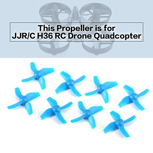 Laurelmartina 8pcs Original CW / CCW hélice para JJR / C H36 Drone ...