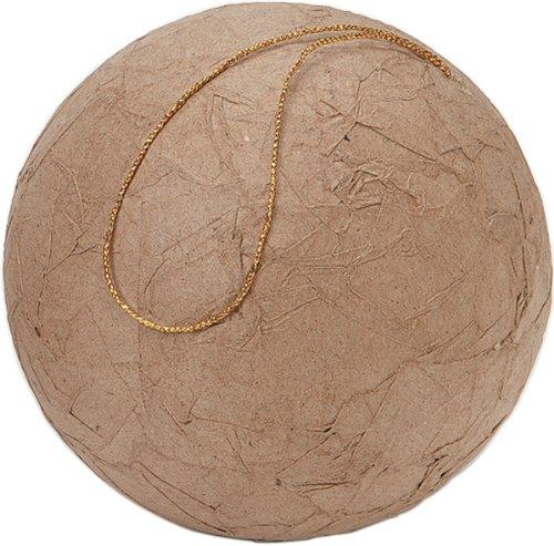 - Paper Mache Wrinkled Ball 100mm (single unit)
