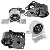 02 nissan altima engine - Engine Motor & Transmission Mount Set Kit of 4 for 02-06 Altima 2.5L Auto